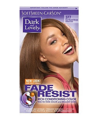 Dark & Lovely Fade Resist Permanent Hair Color