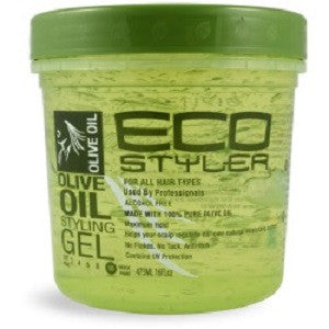 EcoStyler Professional Olive Oil Styling Gel Maximum Hold 16 oz