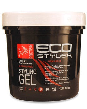 EcoStyler Firm Hold 8 Styling Gel 16 oz