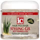 Fantasia IC Hair Polisher with Sparkling Lites Styling Gel 16 OZ
