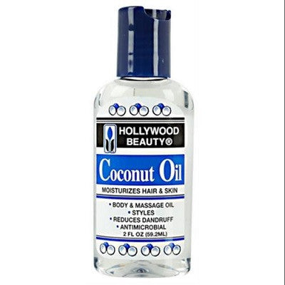 Hollywood Beauty Coconut Oil 2 oz