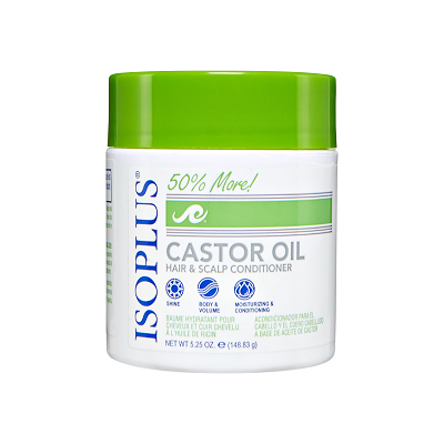 ISOPLUS Castor Oil Hair and Scalp Conditioner 5.25 oz