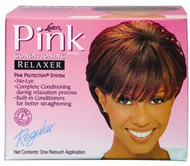 Pink Regular Strength Conditioning No-Lye Relaxer