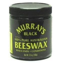 Murray's Black Beeswax 3.5 oz