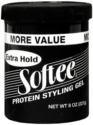Softee Protein Styling Gel Extra Hold 8 OZ