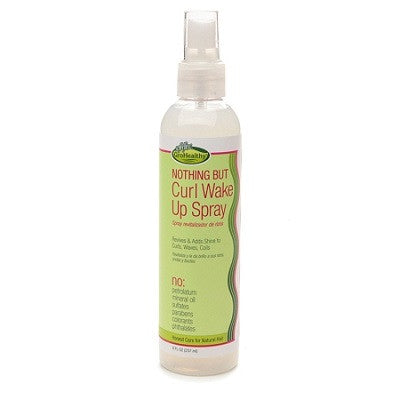 SOFN'FREE Nothing But Curl Wake Up Spray 8 OZ