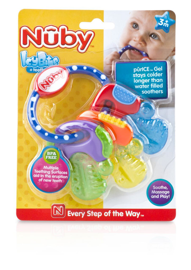 IcyBite™ Hard/Soft Teething Keys