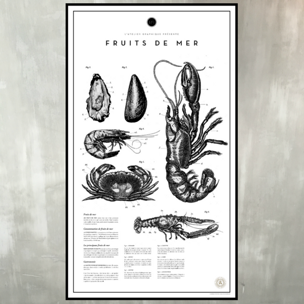 ATELIER GRAPHIQUE - FRUITS DE MER NO. 1