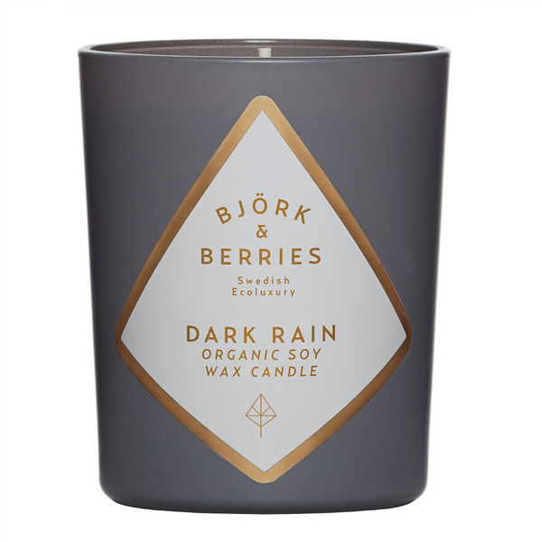 BJÖRK & BERRIES - DARK RAIN SCENTED CANDLE