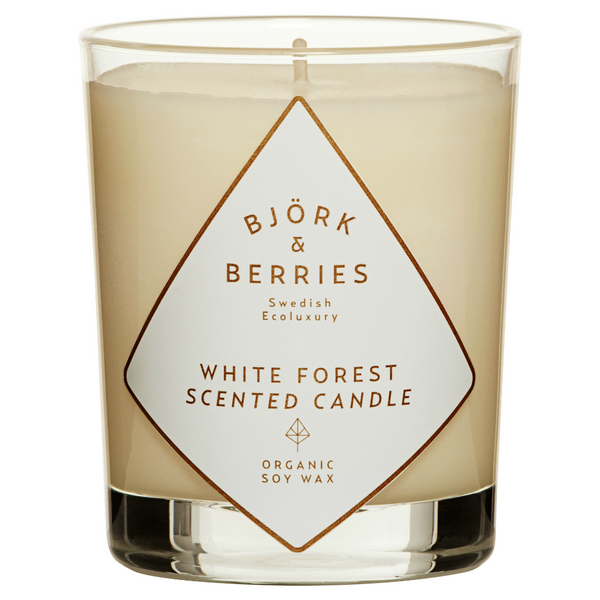 BJÖRK & BERRIES - WHITE FOREST SCENTED CANDLE