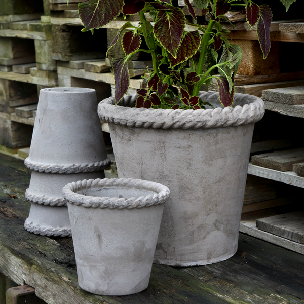 BERGS POTTER - EMILIA POT GREY