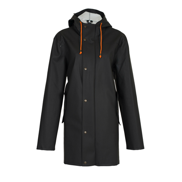 BOMÄRKE RAINCOAT BLACK