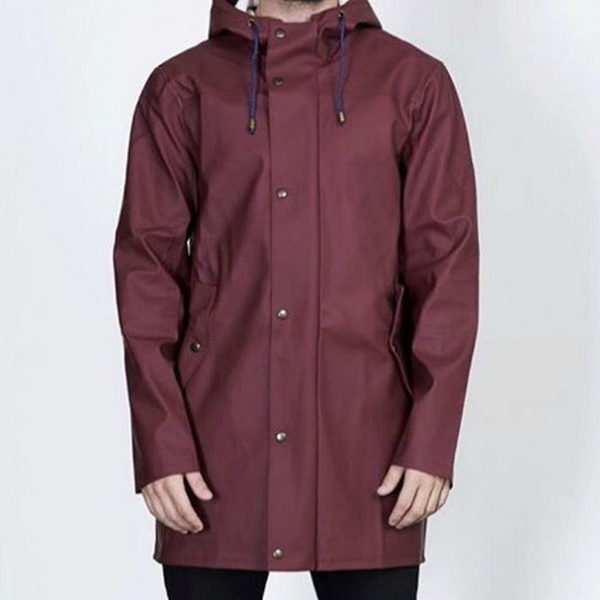 BOMÄRKE RAINCOAT BURGUNDY