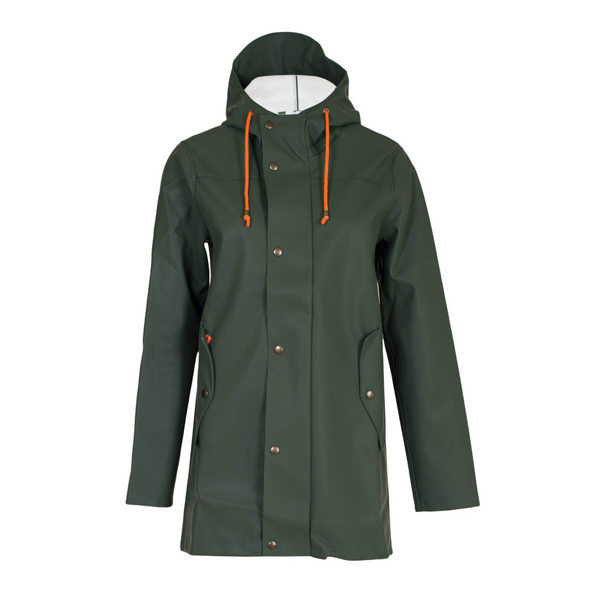 BOMÄRKE RAINCOAT GREEN