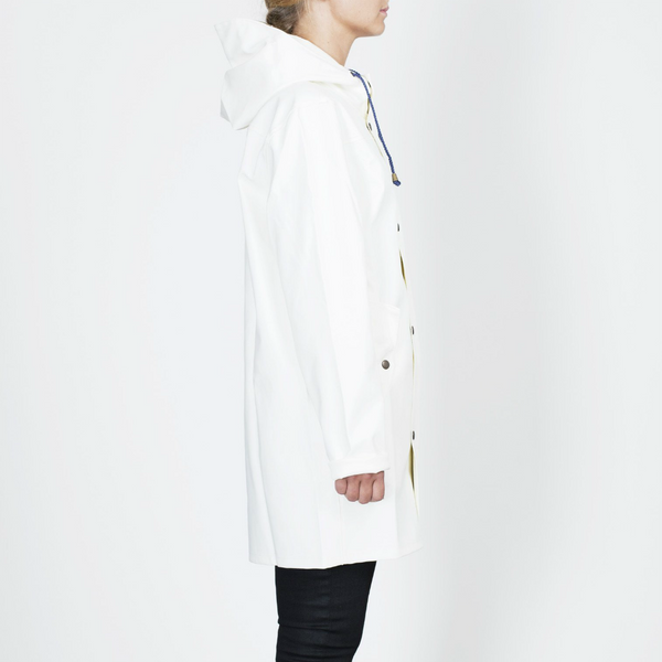 BOMÄRKE RAINCOAT WHITE