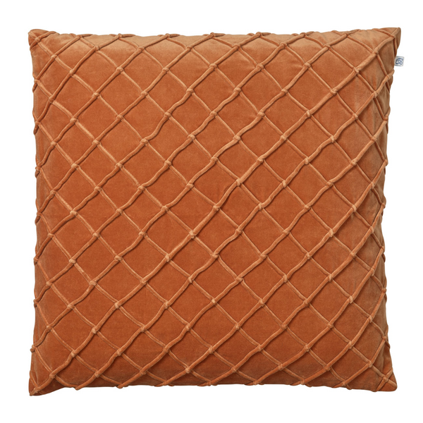 CUSHION COVER DEVA VELVET ORANGE