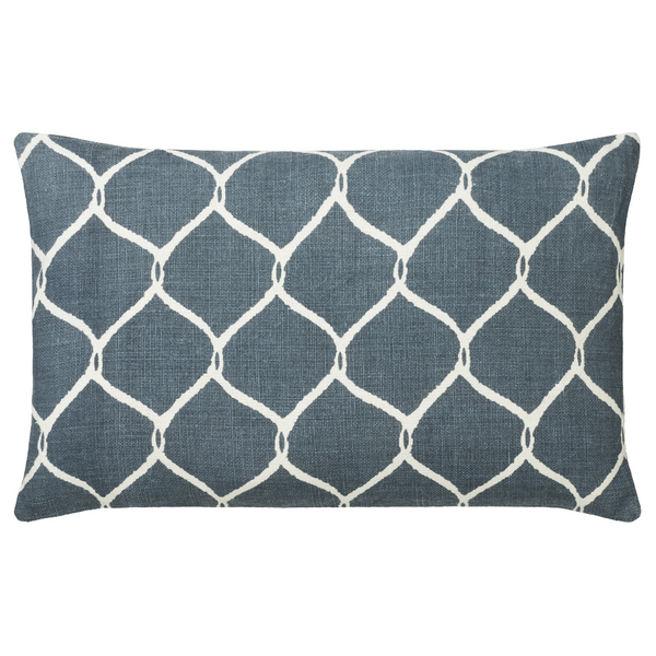 CUSHION COVER JAAL BLUE