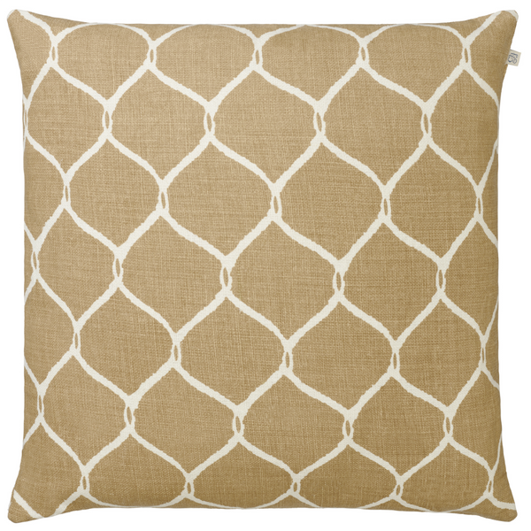 CUSHION COVER JAAL KHAKI
