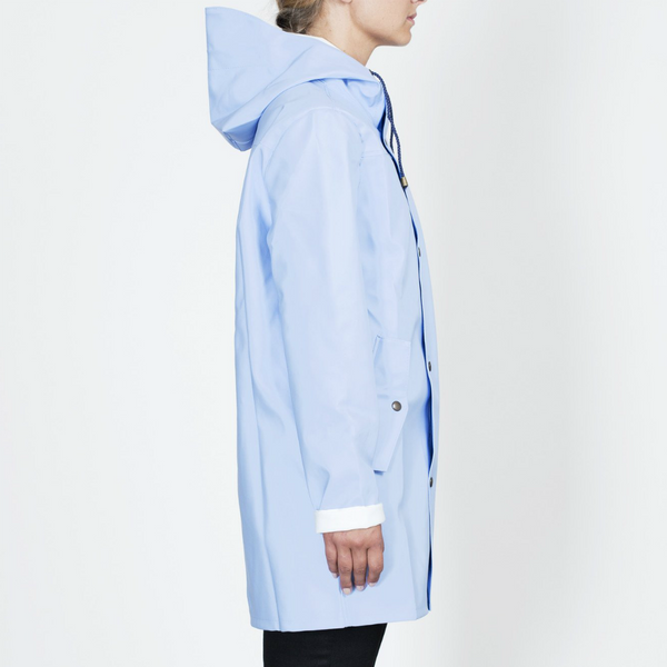 RAINCOAT LIGHT BLUE