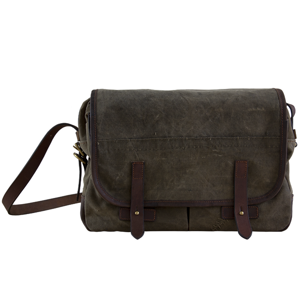 HEMINGWAY MESSENGER BAG - VINTAGE CANVAS