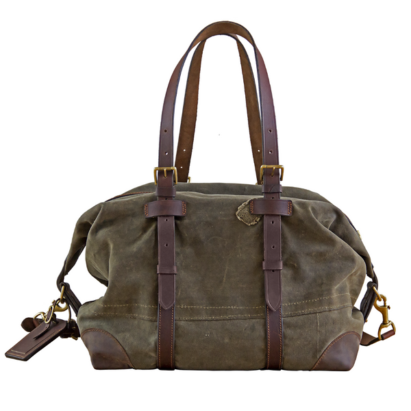 HOLDALL WEEKEND BAG - VINTAGE CANVAS