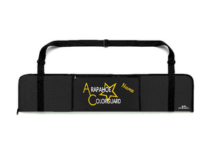 School Logo - Color Guard Rifle and Sabre Bag