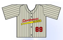 Load image into Gallery viewer, Classic Pin Stripe Mini Jersey Customizable Front View