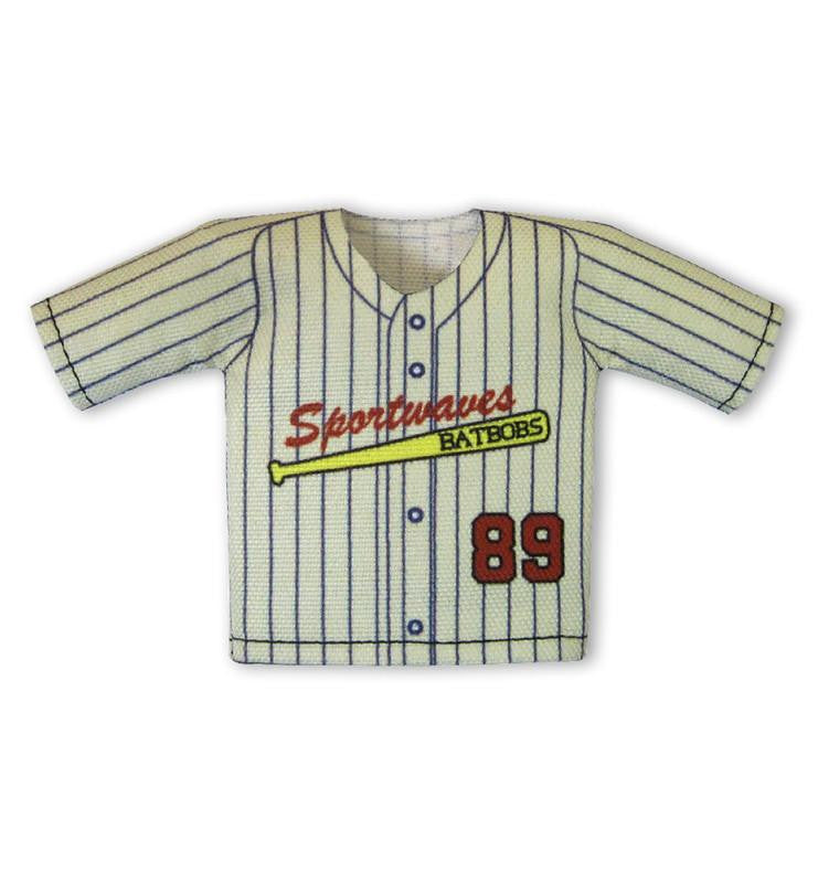 Classic Pin Stripe Mini Jersey For Dugout Gear Hanger