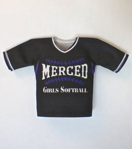 Merced Girls Softball - T-Shirt Bob