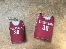 Load image into Gallery viewer, A&M Mini Jerseys Combo Mini Jersey and Key Chain Jersey