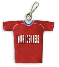 Load image into Gallery viewer, Custom Keychain Jersey