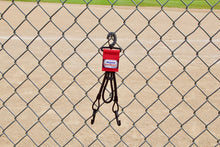 Load image into Gallery viewer, Red Dugout Organizer On Chain Link Fence