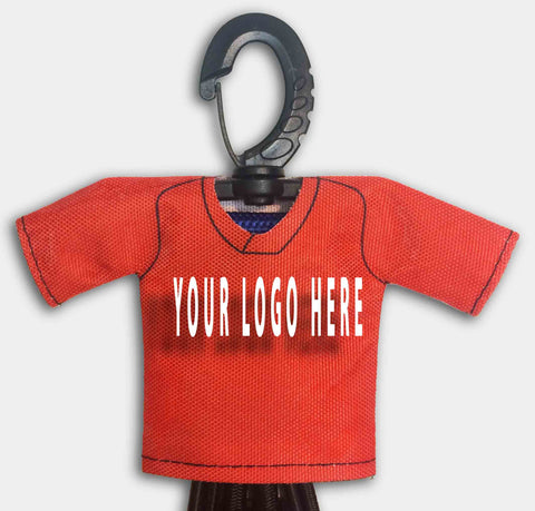 Custom Dugout Gear Hanger Mini Jersey