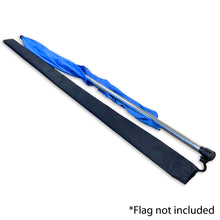 Load image into Gallery viewer, 1 Flag Protector Sleeve for 6 Foot Flag - Black