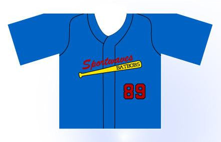 Solid Mini Jersey Customizable Front View