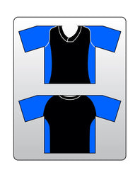 Custom Team Softball Baseball Dugout Organizer in Black/Blue