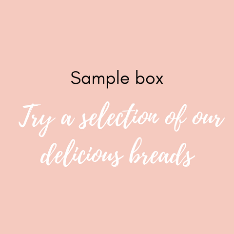 Sample Box - try each of our gluten free sourdough breads!