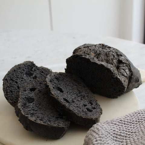 Single Black Charcoal Sourdough Loaf
