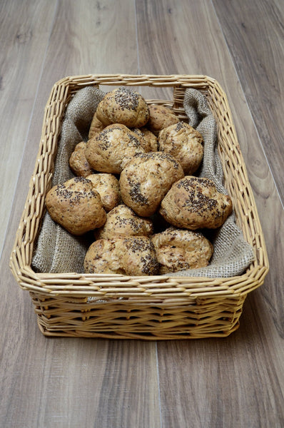 Box of 16 Bold Buckwheat Sourdough Rolls