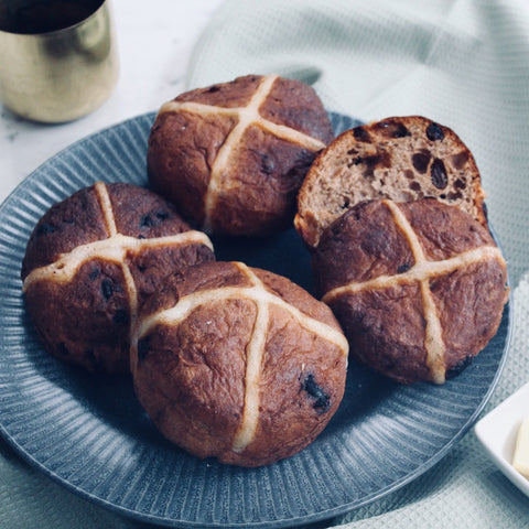Sourdough Hot Cross Bun Box