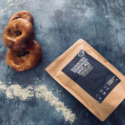 NEW! Sourdough Bagel Baking Mix