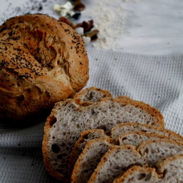 Bold Buckwheat Sourdough Loaf