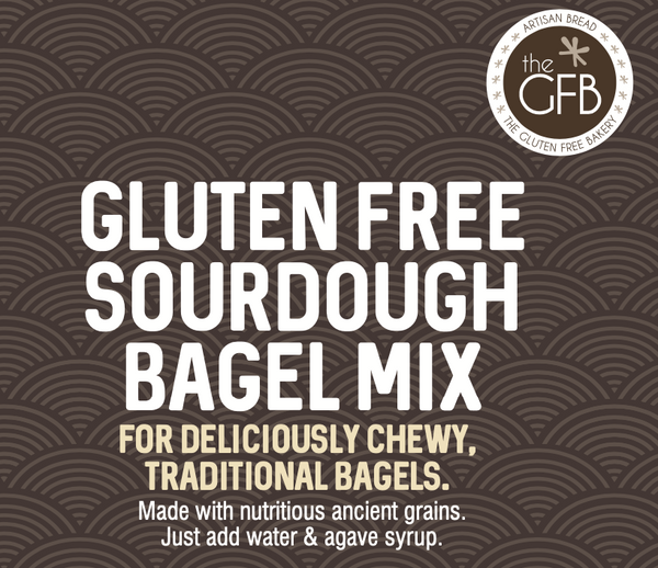 NEW! Sourdough Bagel Baking Mix, 500g