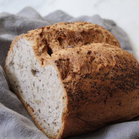 Box of 4 Bold Buckwheat Sourdough Loaves