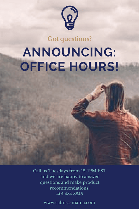 Announcing:  Office Hours!