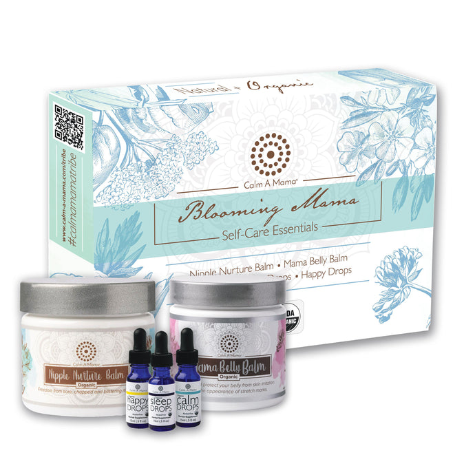 Blooming Mama Set - Mom Self Care Essentials - Best Gift For Expecting Moms - All Natural Ingredients