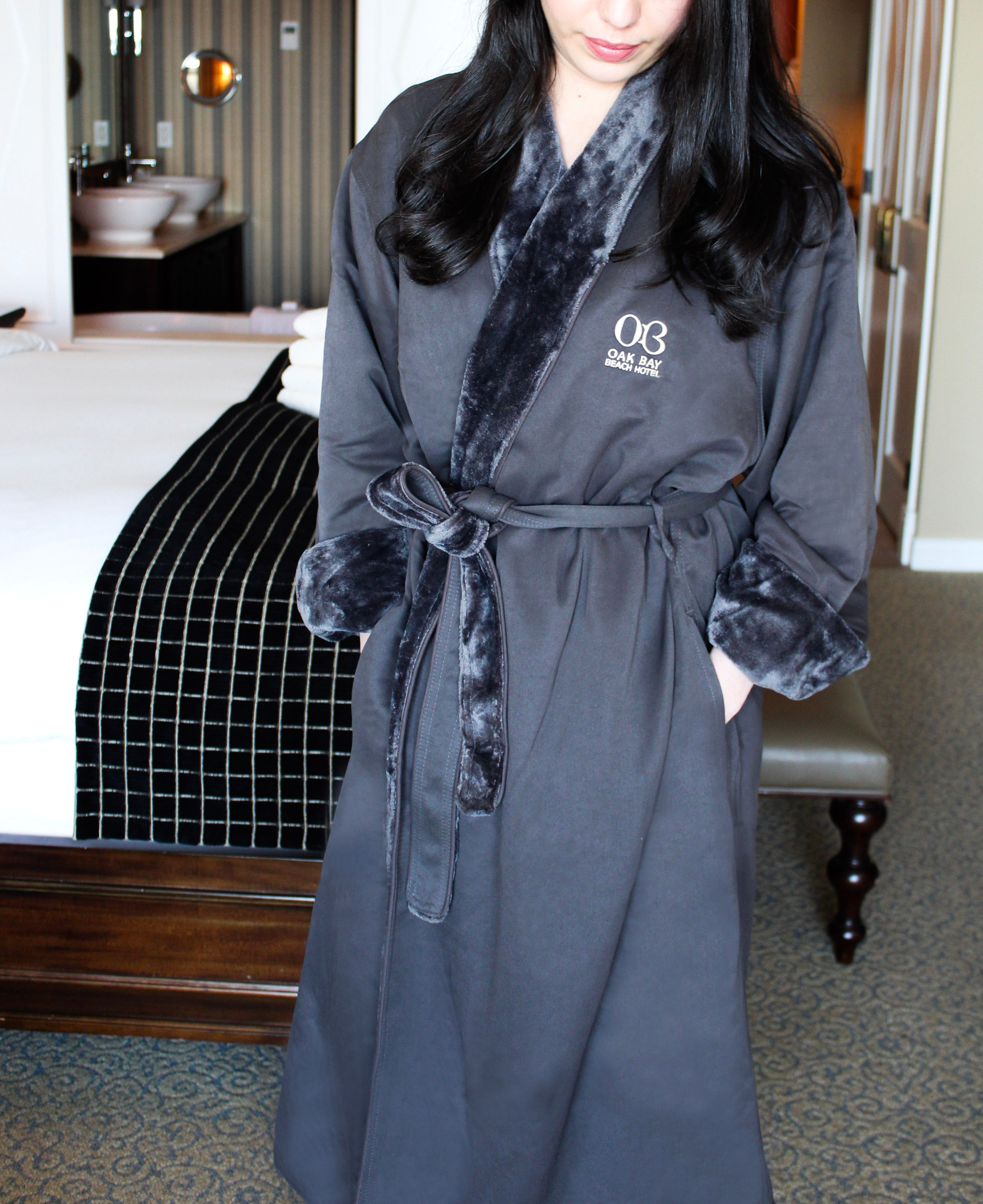 Microfiber Terry Lined Robe