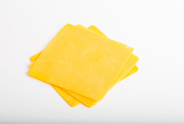 Orange Cheddar Cheese Slices, 500 Gram Package