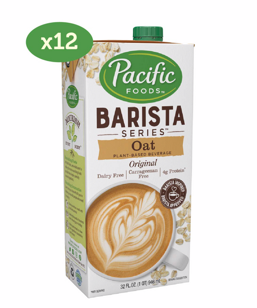 Oat Milk, Pacific Foods 1 Litre Tetra Pack