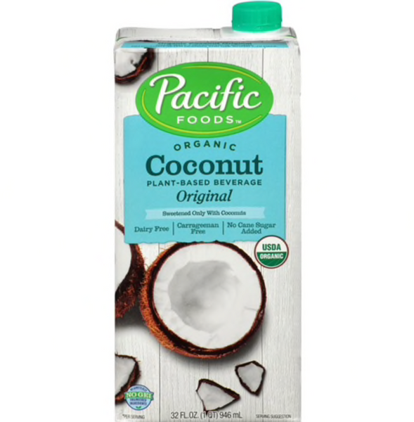 Coconut Milk, Pacific Foods, 1L Tetra Pack
